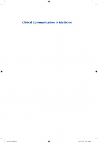 Jo Brown,Jane Kidd,Lorraine Noble,Alexia Papageorgiou - Clinical Communication in Medicine