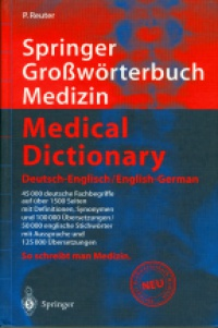 Reuter P. - Medical Dictionary - Deutsch-Engl./Engl.-German