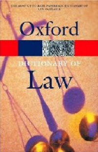 Martin - Dictionary of Law, ISE