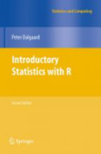 Dalgaard - Introductory Statistics with R