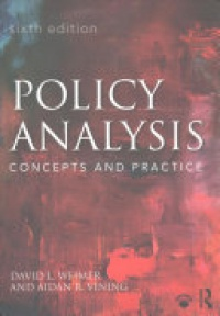 WEIMER - Policy Analysis: Concepts and Practice