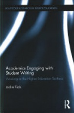 Academics Engaging with Student Writing: Working at the Higher Education Textface