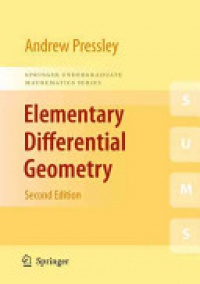 Pressley - Elementary Differential Geometry