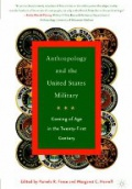 Anthropology of the United States Military