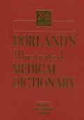 Dorland's Illustrated Medical Dictionary 29th ed.