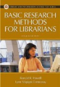 Basic Research Methods for Librarians, 4th ed. / P