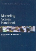 Marketing Scales Handbook: A Compilation of Multi-Item Measures
