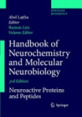 Handbook of Neurochemistry and Molecular Neurobiology: Neuroactive Proteins and Peptides