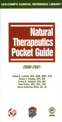 LaValle J. - Natural Therapeutics Pocket Guide