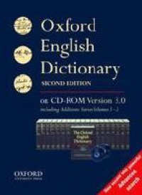 - The Oxford English Dictionary on CD ROM, 2nd ed., version 3.0