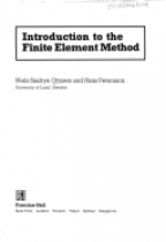 Reddy pdf finite element analysis an nonlinear introduction to