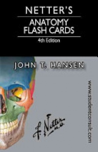 Hansen J. - Netter's Anatomy Flash Cards, with Online Student Consult Access